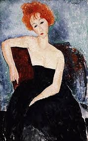 Red Hair - Amadeo Modigliani