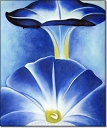 Blue Morning Glories - Georgia O'Keefe