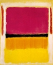 Violet Black Orange Yellow On White And Red - Mark Rothko